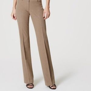Loft tan formal dress pants